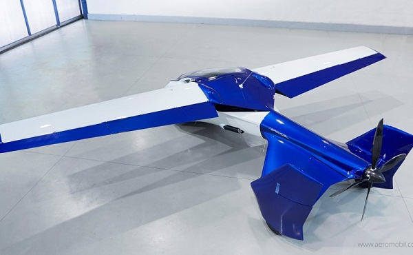 AeroMobil Flying Car Rear View
