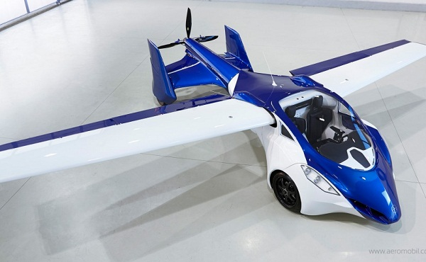 AeroMobil Flying Car  Front Side View