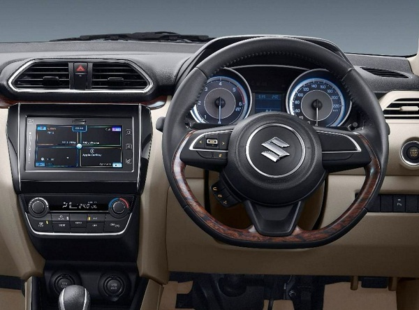 2017 Maruti Suzuki Swift Dzire Central Console