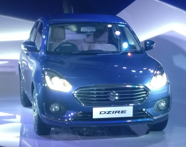 2017 Maruti Suzuki Swift Dzire Front View