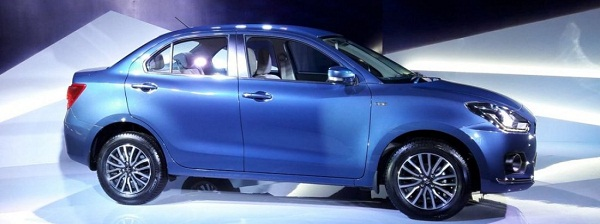2017 Maruti Suzuki Swift Dzire Side View
