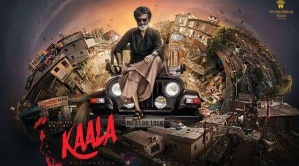 Poster of Kaala Starring Rajnikanth