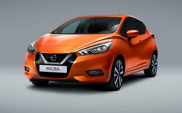 Nissan Micra Front Low View
