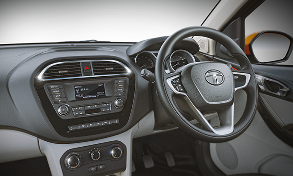 Tata Tiago Steering Wheel Picture