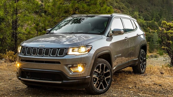 Jeep Compass Front Low View