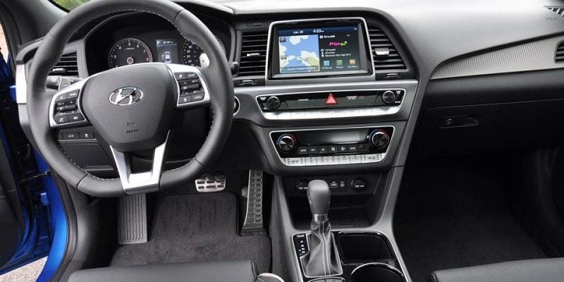 Hyundai Sonata Interior View