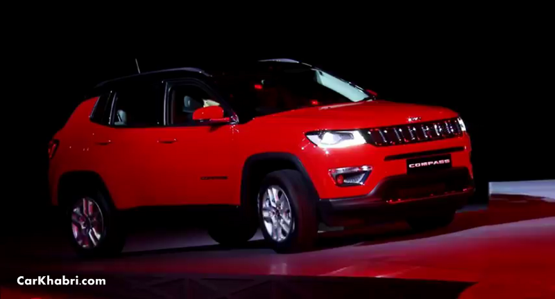 Jeep Compass Launched in India at Rs. 14.95 Lac