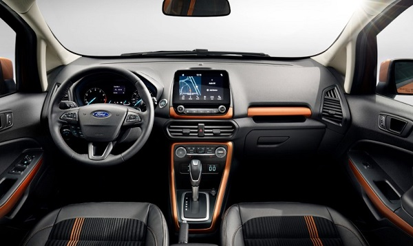2017 Ford EcoSport Facelift Interiors