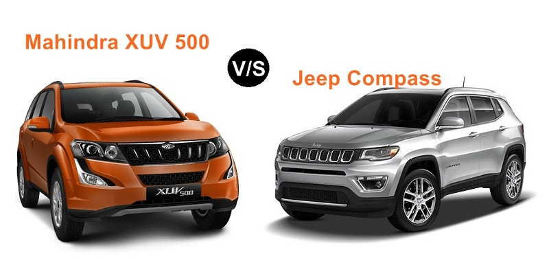 Comparison - Jeep Compass vs Mahindra XUV 500