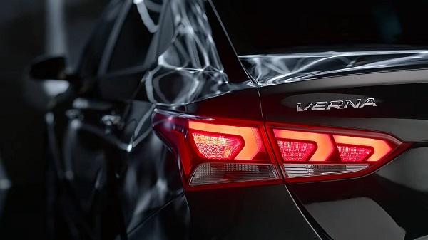 All New Hyundai Verna Tail Lamps