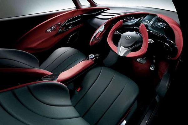 Suzuki Crosshiker Concept Interiors
