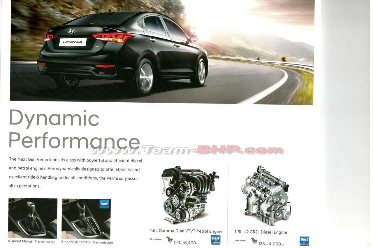 New Hyundai Verna Brochure