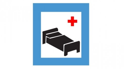 Sign of Hospital