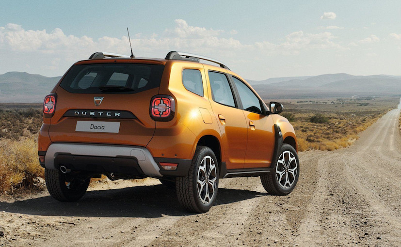 Renault Duster 2018 Rear View