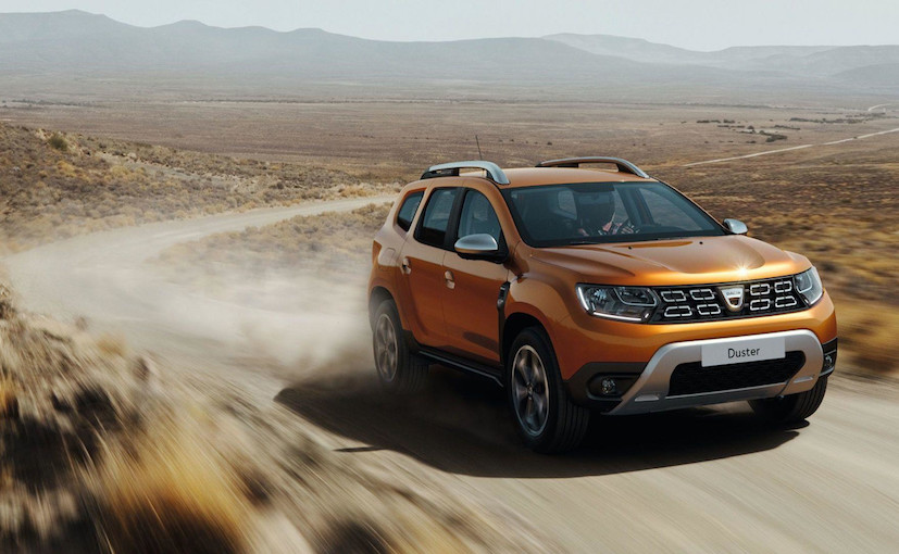 Renault Duster 2018 Front View