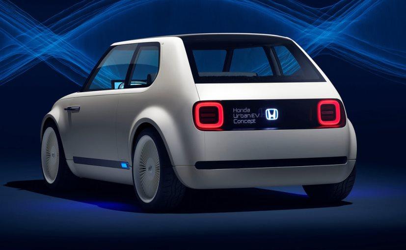 Honda Uban EV Concept Rear View