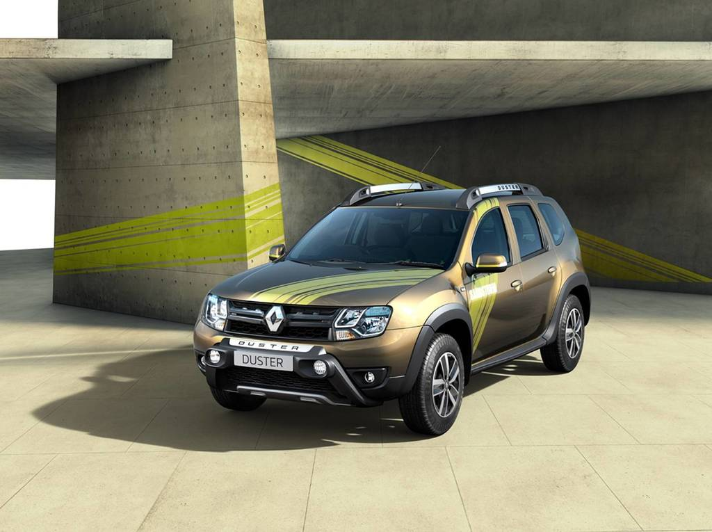 Renault Duster Sandstorm Edition Front Low View