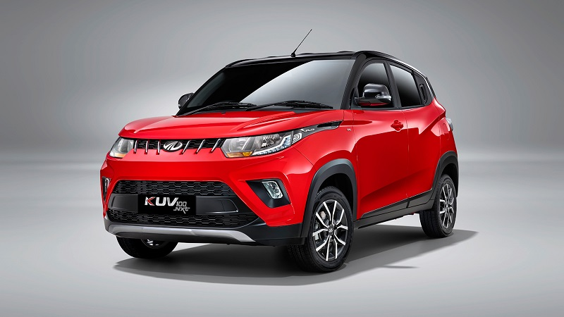 Mahindra KUV100 NXT Front Low View