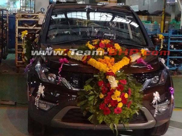 Tata Hexa Limited Edition Spied Image