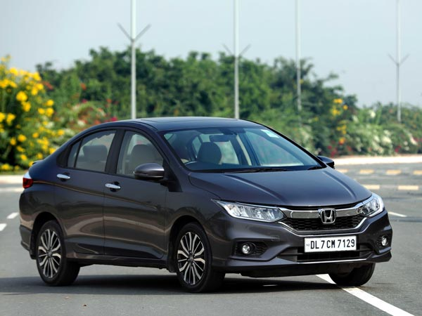 Honda City Front Low View