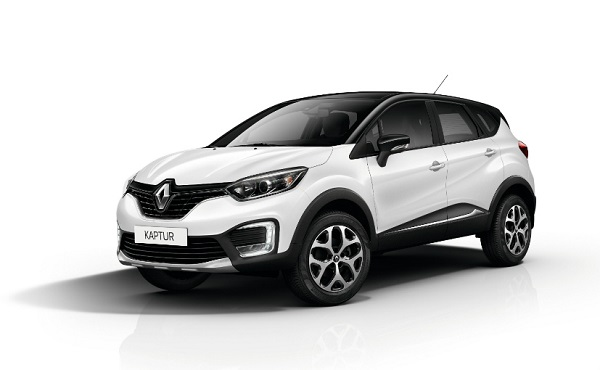 Renault Captur Front Low View