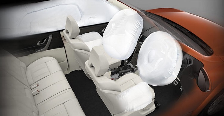 Mahindra XUV500 Airbags