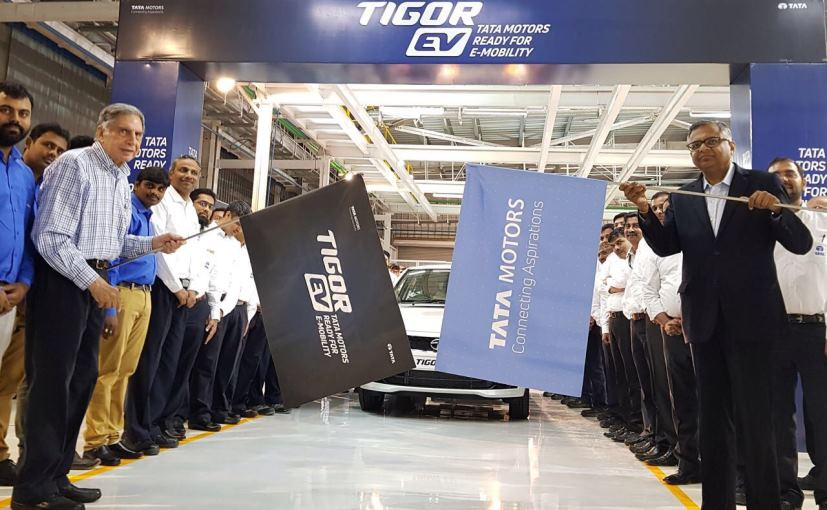 Flag Off of First Fleet of Tata Tigor From The Plant