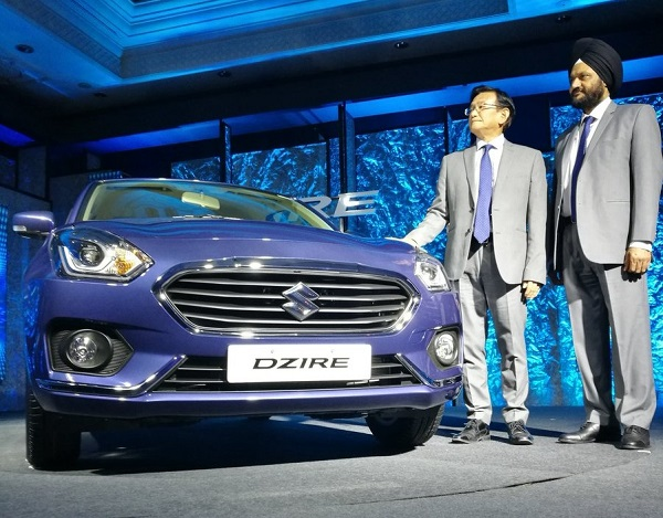 Launch of Next Generation Maruti Suzuki Dzire