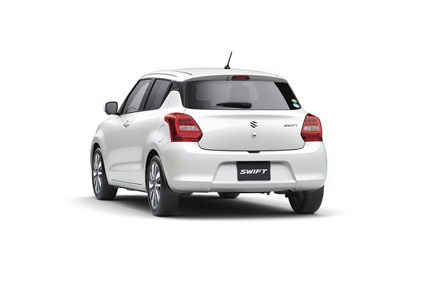 Maruti Suzuki Swift 2018 Rear View