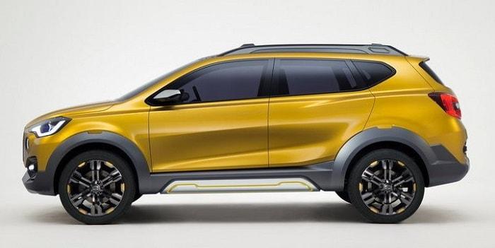 Datsun Cross Side Profile