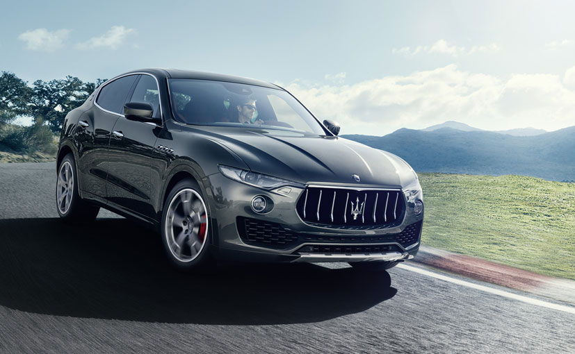 Maserati Levante Front Low View