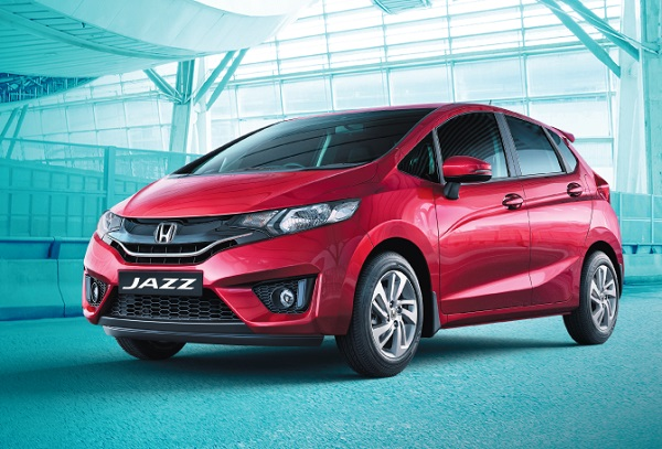 Honda Jazz Front Low View