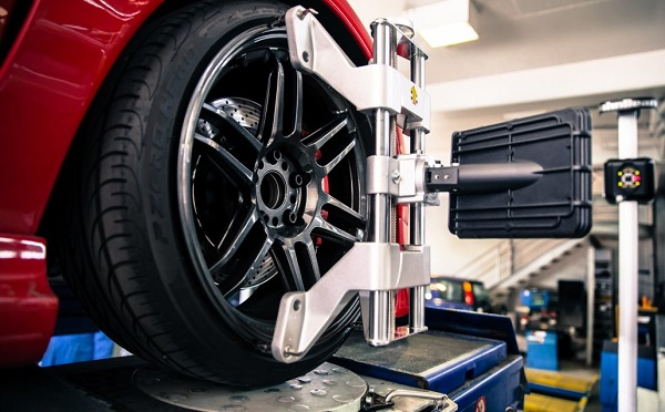 Wheel Balancing Process