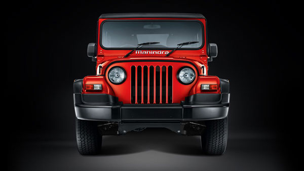 Mahindra Thar Front Side View