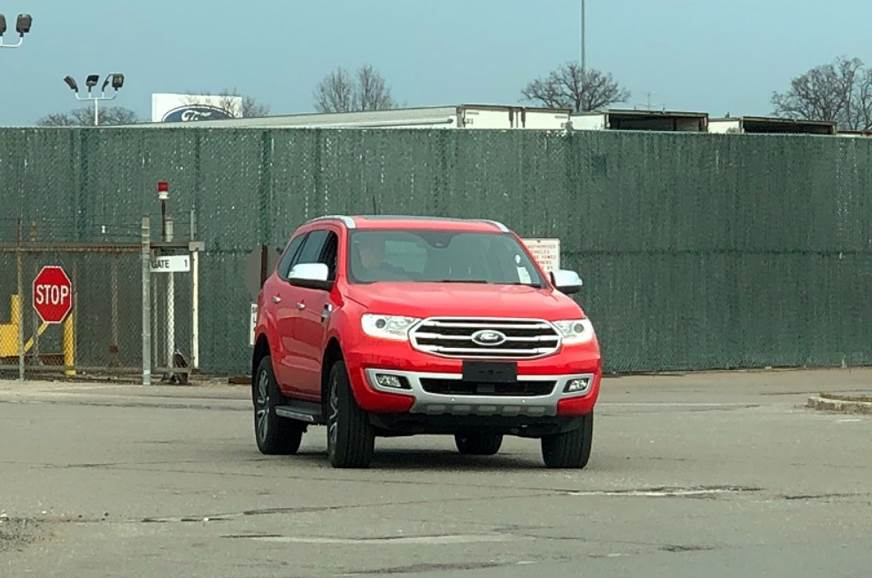 Ford Endeavour 2019 Front View