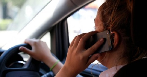 Talking on Mobile Phone While Driving