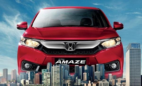Honda Amaze Front View