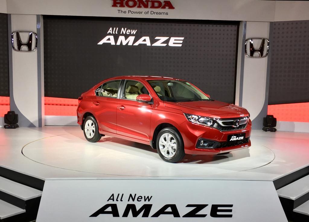 Honda Amaze 2018 Front View