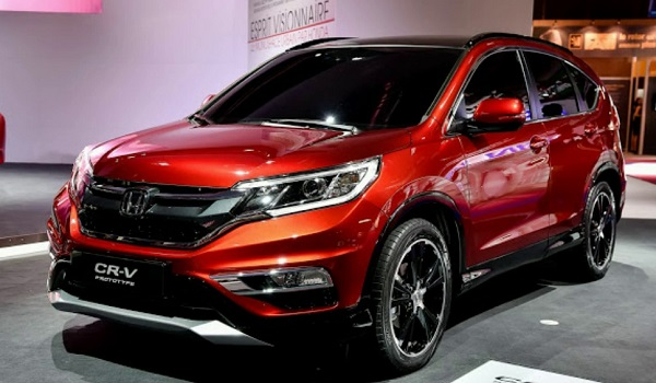 Honda CR-V Front Low View