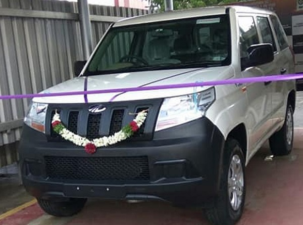 Mahindra TUV300 Plus Front Low View