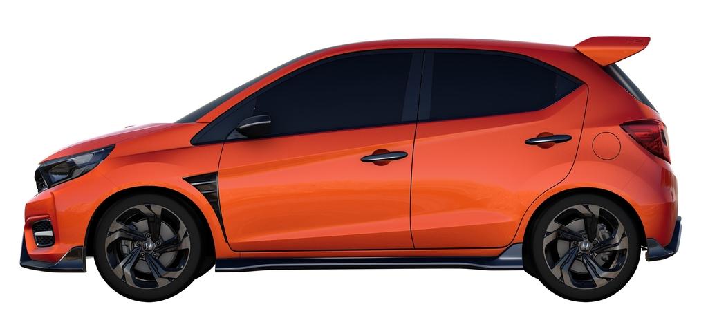 Generation Next Honda Brio Side View