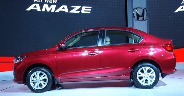 Honda Amaze 2018 Side View