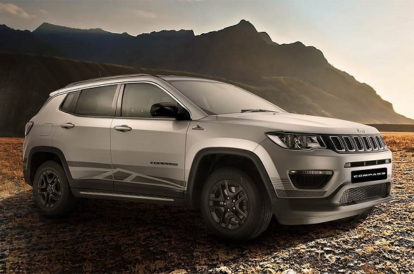 Jeep Compass BedRock Limited Edition Front Low View