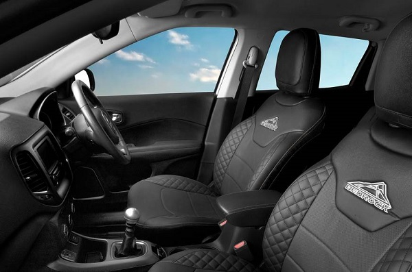 Jeep Compass BedRock Edition Interior View