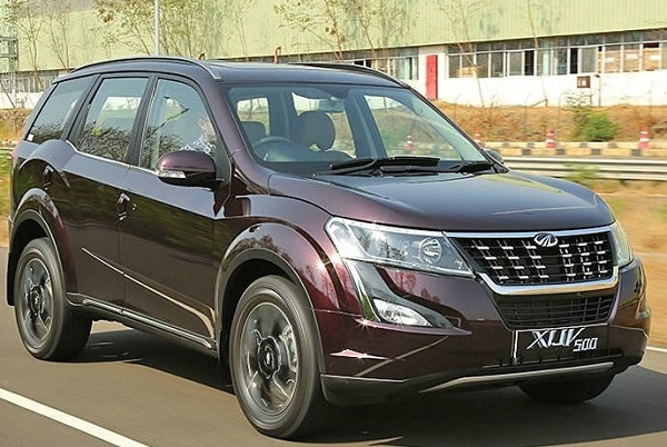Facelift Mahindra XUV500