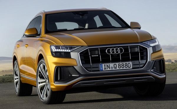 Audi Q9 Front Low View