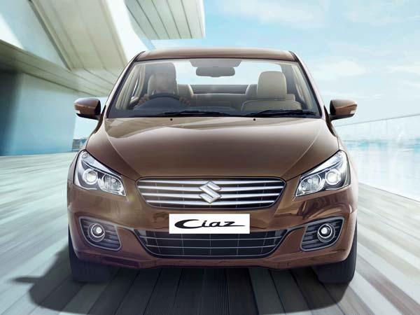 Facelift Maruti Suzuki Ciaz Front View