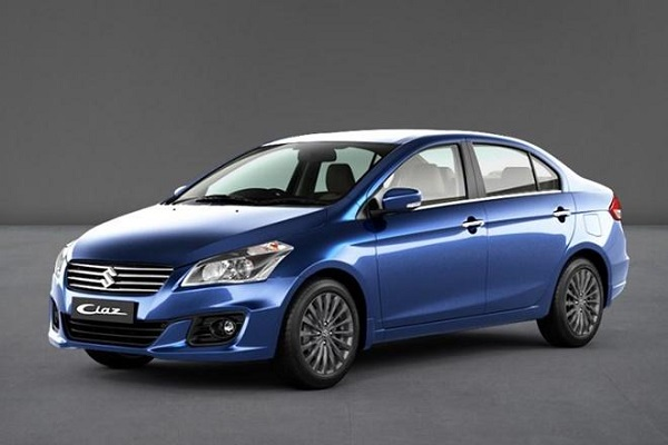 Front Low View Of Facelift Maruti Suzuki Ciaz