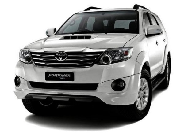 Toyota Fortuner Front View