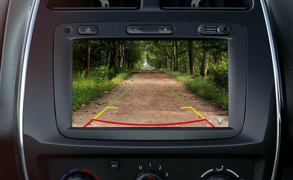 Renault Kwid Rear View Camera